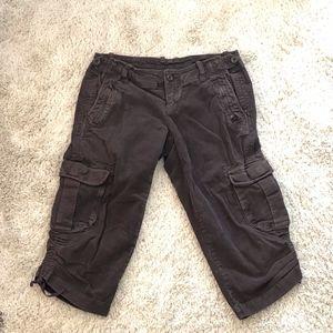 GAP brown corduroy cargo shorts